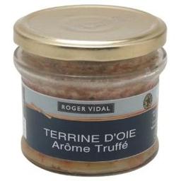 Patê De Fígado Suíno Roger Vidal D'Oie Arôme Truffé Vidro 180 g
