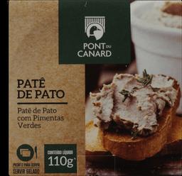 Patê De Pato Pont Du Canard Com Pimentas Verdes