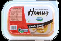 Patê Homus Grão De Bico Orgânico Com Pimentão 200 g