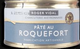 Patê Roger Vidal Carne Suina Com Queijo Roquefor
