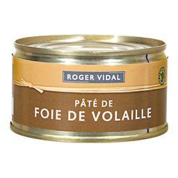 Patê Roger Vidal Foie De Volaille 125 g