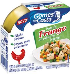 Peito Frango Em Cubos Gomes Da Costa Sabor Legumes 170 g