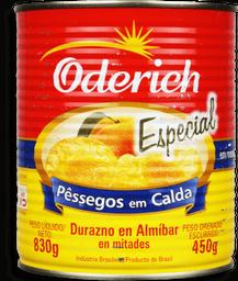 Pêssego Em Calda Oderich Metades Especial 450 g