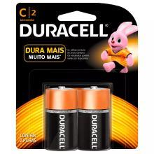 Pilha Duracell C Alcalina Com 2 Und