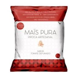 Pipoca Artesanal Mais Pura Sabor Tomate Defumado 25 g