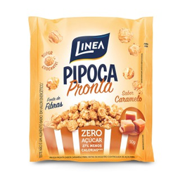 Pipoca Pronta Linea Caramelo 50 g