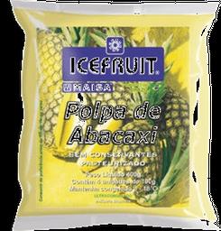 Polpa De Fruta Icefruit Abacaxi 1 Und