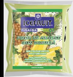 Polpa De Fruta Icefruit Abacaxi Com Hortelã 1 Und