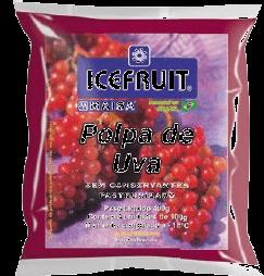 Polpa De Fruta Icefruit Uva 1 Und
