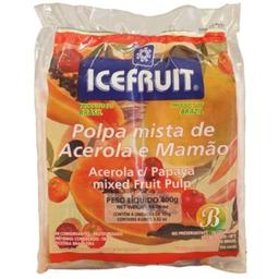 Polpa Icefruit Acerol/Mamão 400 g