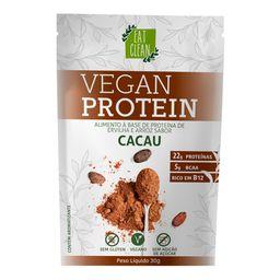 Proteína Sachê Vegan Protein Cacau Eat Clean 30 g