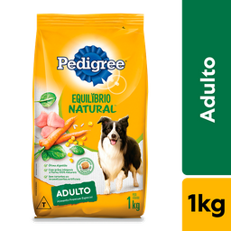 Ração Pedigree Equilíbrio para Cães Raças Médias e Grandes 1 kg