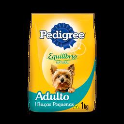 Ração Pedigree Equilíbrio Natural Cães Adultos Raças Pequenas1kg