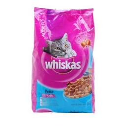 Ração Para Gatos Whiskas Adulto 1+ Anos Sabor Peixe 1 Kg