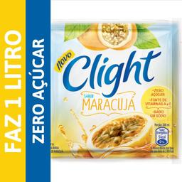 Refresco Em Pó Zero Açúcar Clight Maracujá Sachê 8 g