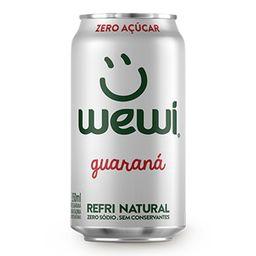 Refrigerante Sem Açúcar Wewi Guaraná 350 mL