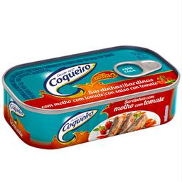 Sardinha Ao Molho De Tomate Coqueiro Lata 125 g