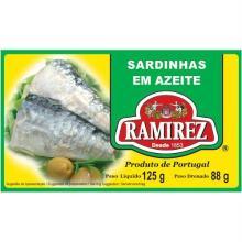 Sardinhas Em Azeite Ramirez 125 g