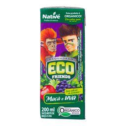 Suco Native Eco Friendes Orgânico Maçã E Uva