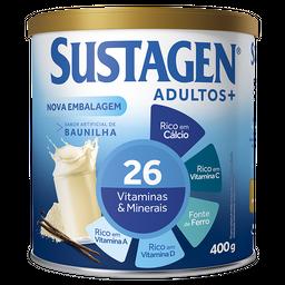 Sustagen Adulto+ 400g Sabor Baunilha - Complemento Alimentar