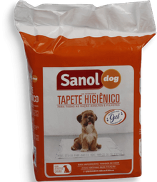 Tapete Higiênico Para Cães Sanol Pacote Com 7 Und