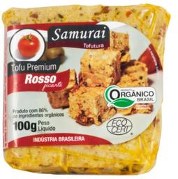 Tofu Premium Orgânico Rosso Samurai 100 g