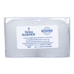 Vela Gominho Nº4 Kosher 4 Und 26 g