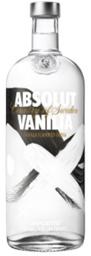 Vodka Absolut Vanilla 750 mL
