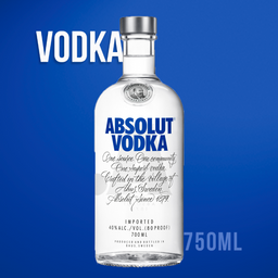 Absolut vodka  Sueca 1000ml
