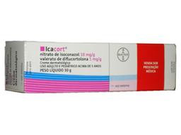 Creme Icacort 1 Mg / G + 10 Mg / G Bayer 30 g