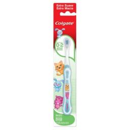 Escova Dental COLGATE SMILES 0-2 Anos