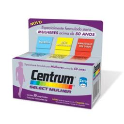 Centrum Select Mulher Complexo Vitaminico 30 Comprimidos