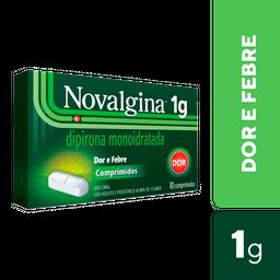 Novalgina 1 g Com 10 Comprimidos