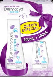 Kit Dermacyd Delicata Sabonete Íntimo Líquido 200 mL + 1,99 Leve