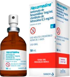 Hexomedine Colutório 50 mL