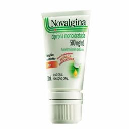 Solução Oral Novalgina 500 Mg / mL Sanofi Aventis 20 mL
