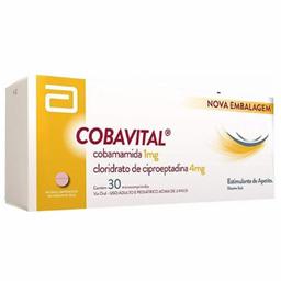 Cobavital 1 Mg / 4 Mg Com 30 Comprimidos