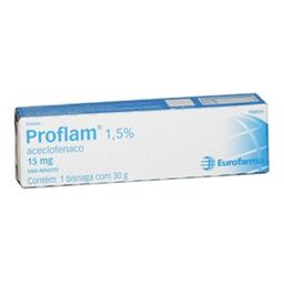 Creme Proflam 15 Mg / G Eurofarma 30 G