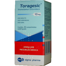 Remédio Toragesic 10 Mg Ems 10 Comprimidos Sublinguais