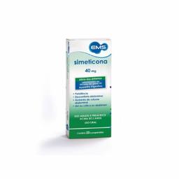 EMS Simeticona 40 mg Ems Com 20 Comprimidos
