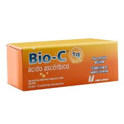 Bio C 1 g Com 10 Comprimidos Efervescentes