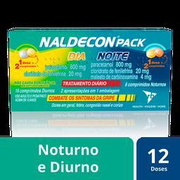 Naldecon Pack Dia E Noite Com 24 Comprimidos