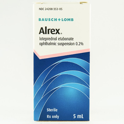 Alrex Suspensão Oftálmica 5 mL