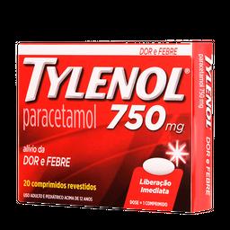 Tylenol 750Mg 36Cart C/ 20Cp