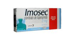 Imosec 2 Mg Janssen Johnson & Johnson Com 12 Comprimidos