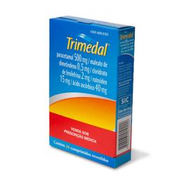 Trimedal Com 24 Comprimidos