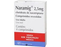 Naramig 2,5 Mg Com 4 Comprimidos