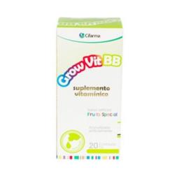 Cifarma Grow Vit Bb Suplemento Vitaminico 20mL