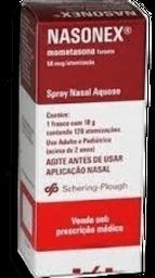 Nasonex Scheringplough Spray Nasal 120 Doses