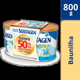 Sustagen Nutrição E Energia 400g Baunilha